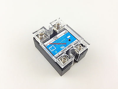 5pcs 40a Ssr Input 3-32vdc Output 240vac Single Phase Solid State Relay