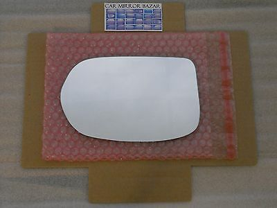 LD514 Replacement Mirror Glass for 2012-16 HONDA CR-V HR-V Driver Side View Left ()