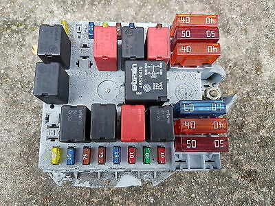 ALFA ROMEO 147 FUSEBOX DIESEL  WITH ALL FUSES  RELAYS