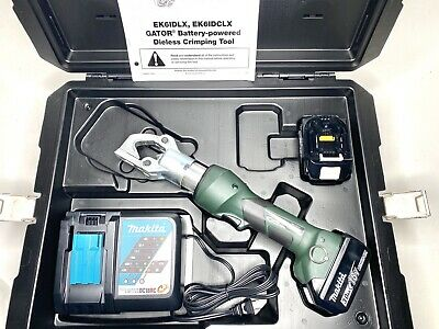 Greenlee Gator Ek6idlx11 Dieless Battery Hydraulic Crimper Ek6idl Crimping Tool
