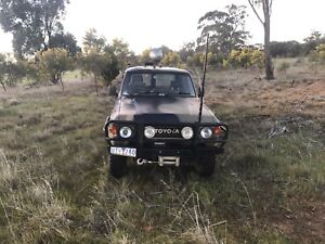 Landcruiser 60 series V8 dual cab ute engineered registered