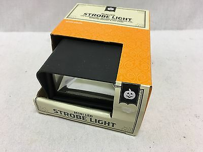 Halloween LED Strobe Light Effect With Speed Control Dial And Mounting Bracket