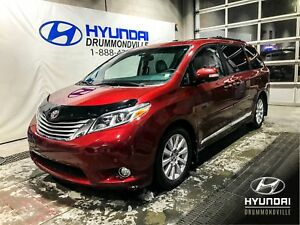 TOYOTA SIENNA LIMITED + DVD +  NAVI + TOIT DOUBLE+ CUIR + MAGS +
