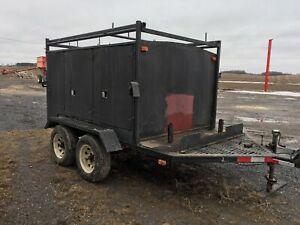 Utility trailer/tool trailer 8x6 box. Trailer is 14 ft overall