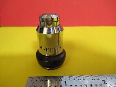 Wild Heerbrugg Swiss Objective 100x Lens Optics Microscope Part 506023 Ft-6-167