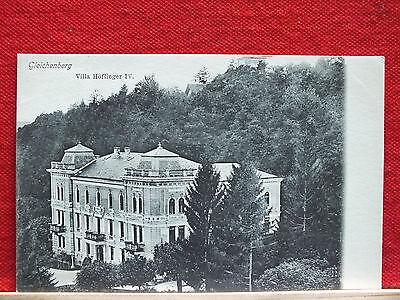 AK - Gleichenberg - Bad Gleichenberg - Villa Höflinger - gel. 1906 - TOP Zustand