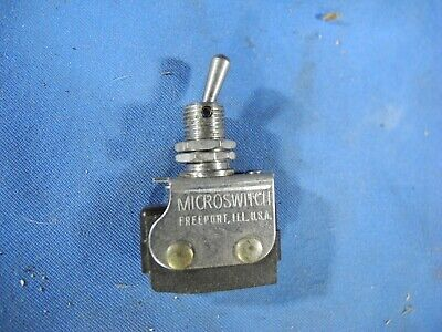 1 Ea Nos Honeywell Micro Toggle Switch W Various Applications Pn 6at1 Nos