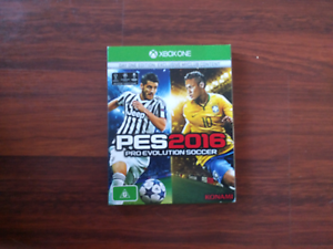 Pro evolution soccer 2016 for Xbox one Golden Grove Tea Tree Gully Area Preview
