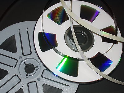 Cine Film To DVD TRANSFER SERVICE Super 8 Std 8mm 200ft Frame by Frame Scanned