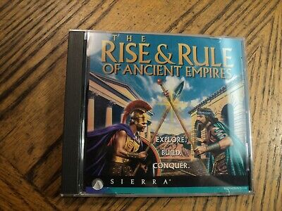 The Rise & Rule Of Ancient Empires (PC Sierra 1995)   Disc & (The Rise & Rule Of Ancient Empires)
