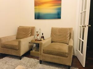 4 luxurious armchairs - moving sale