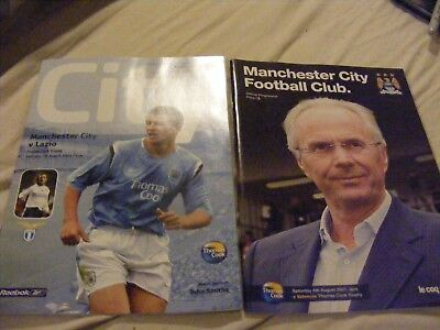 2004 Manchester City v Lazio   Friendly