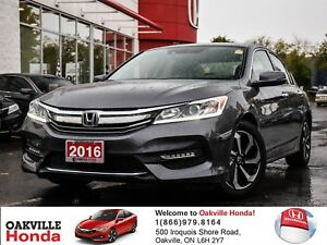 2016 Honda Accord Sedan L4 EX-L CVT 1-Owner|Clean Carproof|Lanew