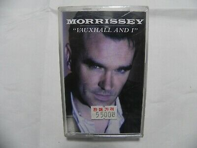 Morrissey - Vauxhall And I Korea Cassette Tape / The Smiths / SEALED NEW