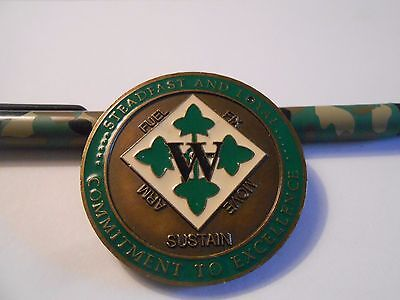 United States Army 4th Infantry Division Mechanized DSC Challenge Coin #1426