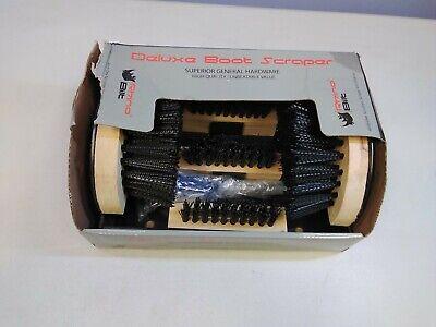 Rhino Bilt Boot Scraper, Deluxe Boot Scrapers - Outdoor Boot Brush Extra Wide