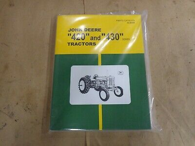 Parts Manual For John Deere Tractor 420 And 430 Series