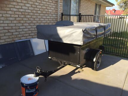 Motorbike camper trailer Rosewater Port Adelaide Area Preview