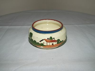Vintage Watcombe Devon Motto Ware Sugar Bowl