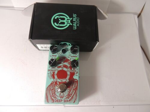 Walrus Audio Deep Six Compressor Sustainer Effects Pedal Free USA Shipping