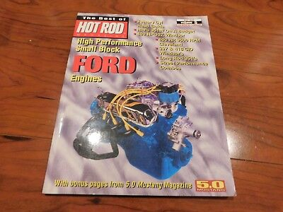 HIGH PERFORMANCE SMALL BLOCK FORD ENGINES THE BEST OF HOT ROD MAGAZINE BOOK