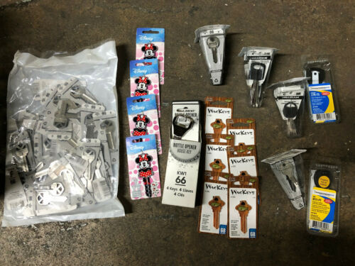 KEY BLANKS asst kinds about 100 Wackeys wholesale lot assortment Hillman Minny