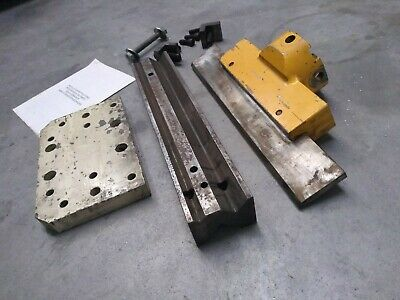 Geka Hydracrop Ironworker Press Brake Attachment