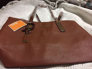 Cognac colour Mk purse