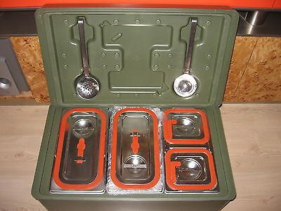 Kelle und Schaumlöffel für Rieber 100 K Thermoport Thermobox Thermobehälter