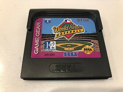 World Series Baseball (Sega Game Gear, 1993)