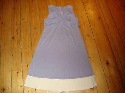 BNWT Ladies MATERNITY Lilac/Cream Nightdress Size XS - 8-10