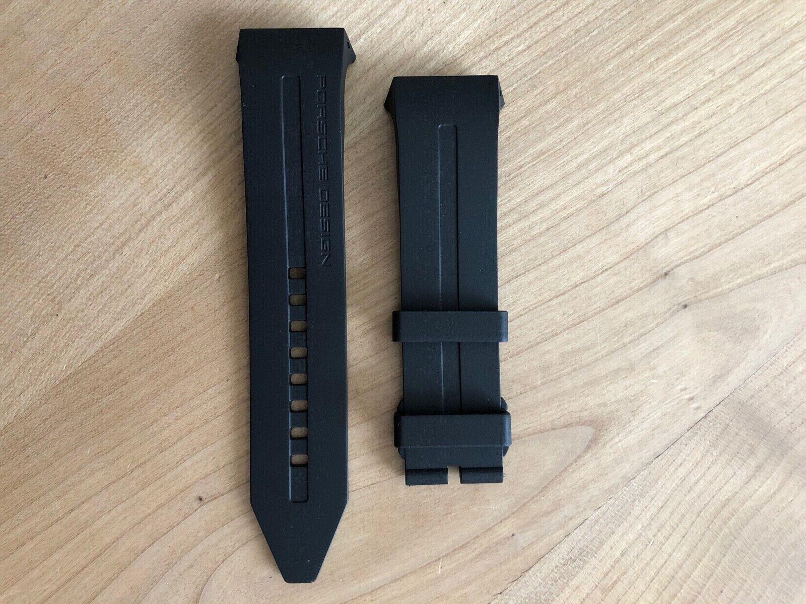 Porsche Design Kautschuk Armband Monobloc P6030, Ersatzband Neu und Original