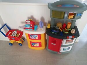 Little Tikes Play Kitchen and Laundry
