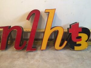"""Neon Sign Letters 36"""" Neon Letters with Transformers"""