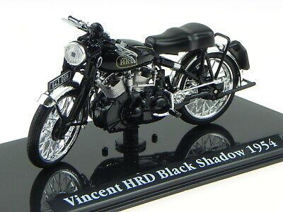 Vincent HRD Black Shadow 1954 Classic motor bike model 58102 Atlas 1:24