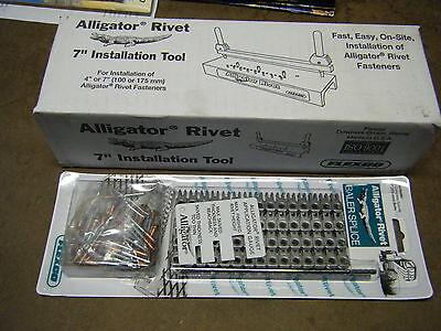 Round Hay Baler Belt Tool Lacer 7 Rivet Repair Splice Flexco Alligator Art-7