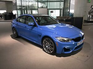 2017 BMW M3 - Lease takeover optional