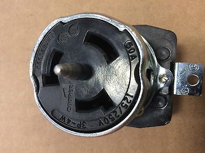 Cooper CS6369 3 Pole 4 Wire 50AMP 125/250V Locking Receptacle