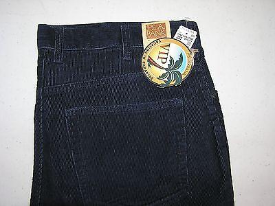89 50 New Jos A Bank Vip 5 Pocket Cotton Plain Front Corduroy Navy  35 W X 34