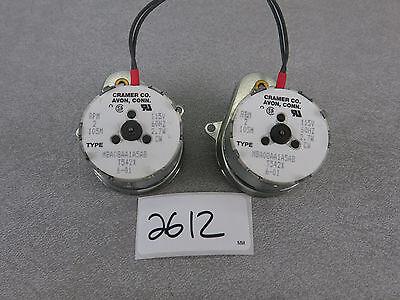 Cramer Co Motor 2 Rpm 105m Mba08aa1a5ab T542x 115v 2.7w Cw Gearmotor Gear 115