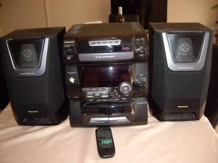 CD STEREO SYSTEM - PANASONIC SA - AK20