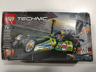 LEGO Technic Dragster 42103 Pull-Back Racing (225 Pieces)