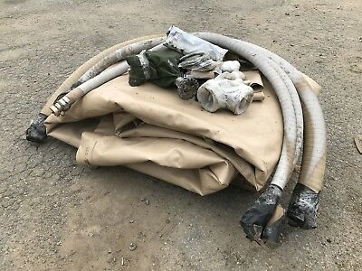 Collapsible Fabric Fuel Tank Gta 10000 Gallon Gta-10kf Desert Tan