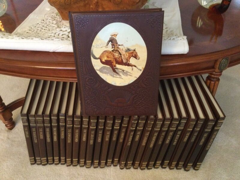 Time-Life Books. THE OLD WEST SERIES. 26 Volumes. 1970s. Very Nice!