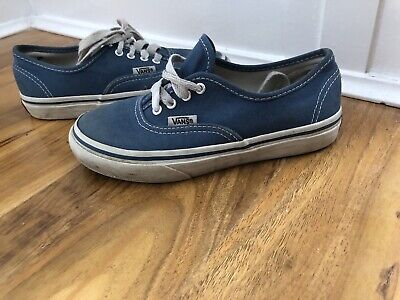 Boys Blue Vans Size 13 Junior