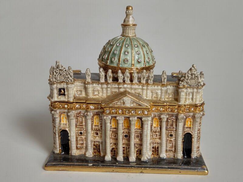 St. Peter's Basilica Church Magnetic Trinket Box
