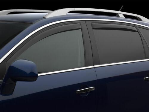Dark Tint WeatherTech Side Window Deflectors for Infiniti Q70L 2014-2019
