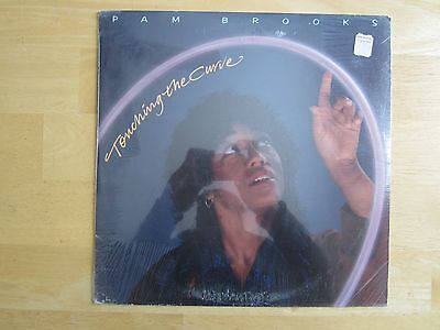 - PAM BROOKS ~ Touching The Curve  VINYL RECORD LP / SEALED