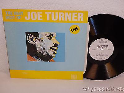 The Very Best of JOE TURNER Live LP Intermedia QS-5026 (1982) EX! R&B