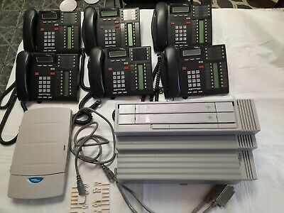 Nortel Networks Phone System Norstar Compact Ics Call Pilot 100 6 Phones